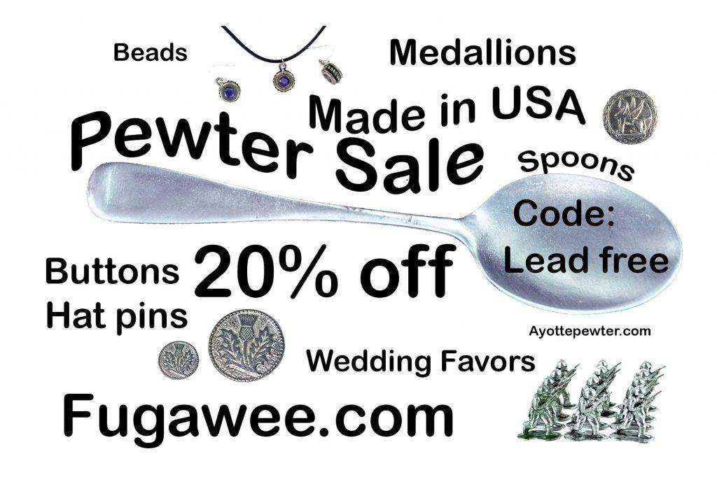 Pewter sale