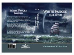 White Fanged Blue *itch. this refers to the sea from a sailors perspective.