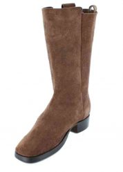 Fugawee's Short Brown Boot Rough out and Un-lined.