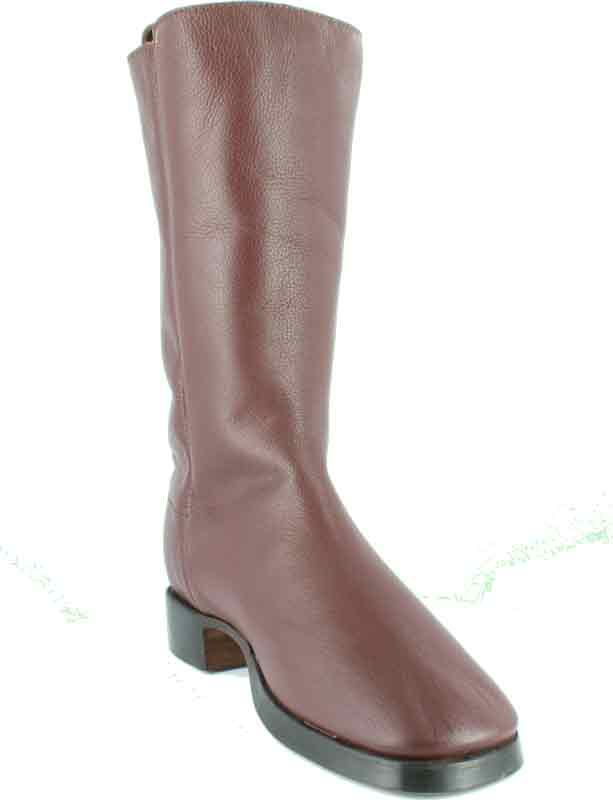 Fugawee's Short Brown Boot smooth out and leather lined.