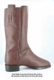 Fugawee's Short Brown Boot in smooth out